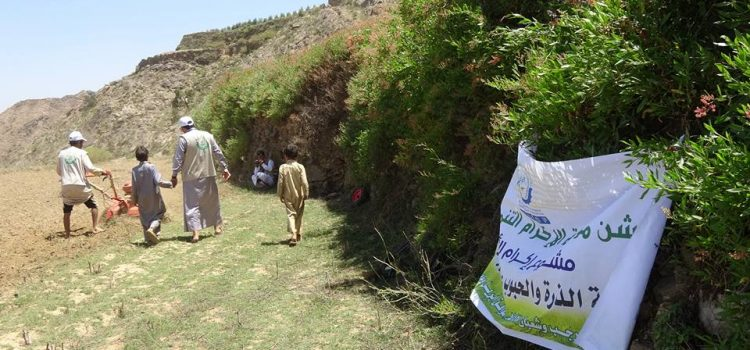 Ekram Land Project 2, Reclamation of agricultural land April 16, 2017